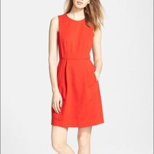 Madewell Abroad Fit & Flare Dress